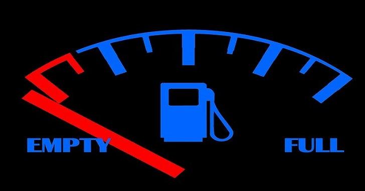 ガソリン 警告灯 ガス欠
